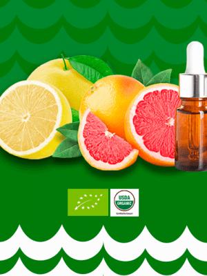 óleo essencial de grapefruit orgânico